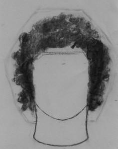 Kreslenie kučeravých vlasov - Obr. 3